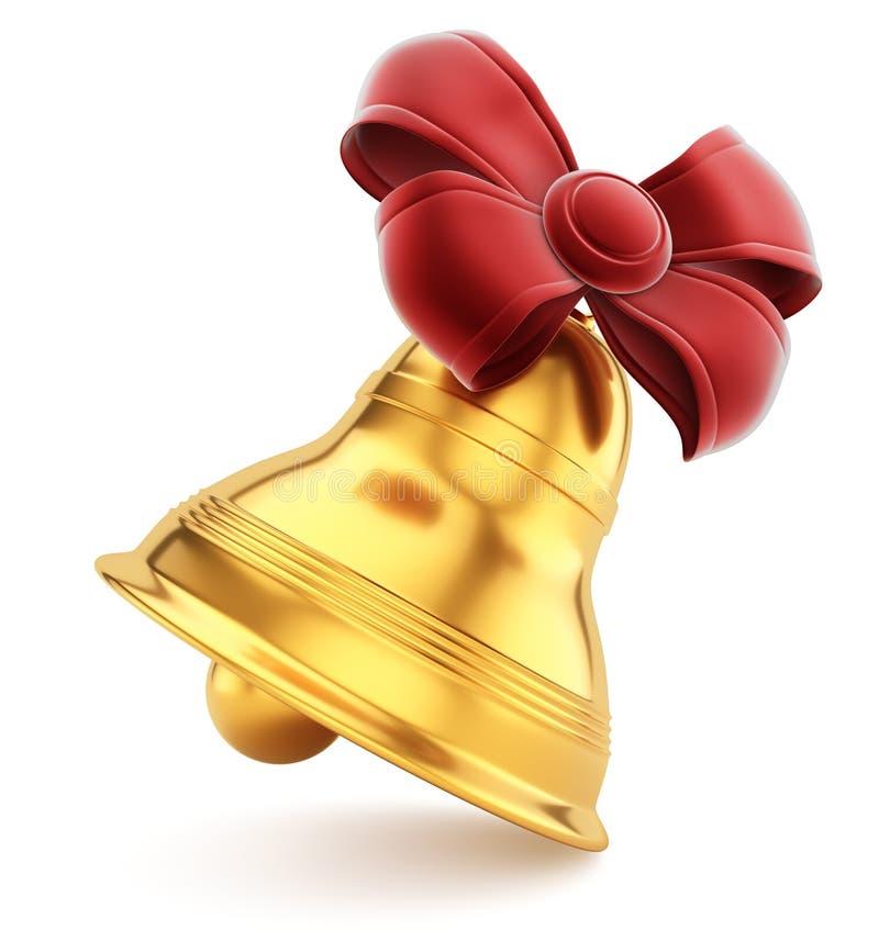 La Navidad Bell stock de ilustración