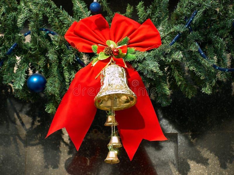 La Navidad Bell fotografía de archivo libre de regalías