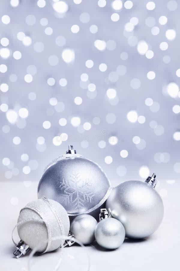 La Navidad blanca fotografía de archivo libre de regalías