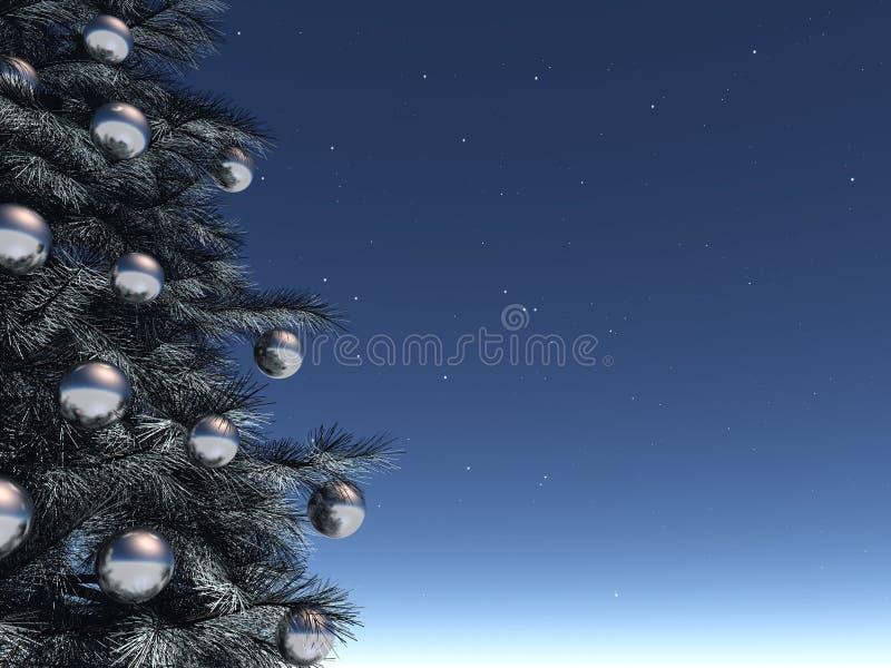 La Navidad brillante libre illustration