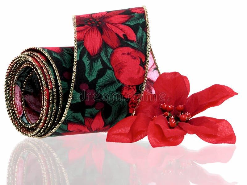 La Navidad: Cinta Decorativa Fotografía de archivo