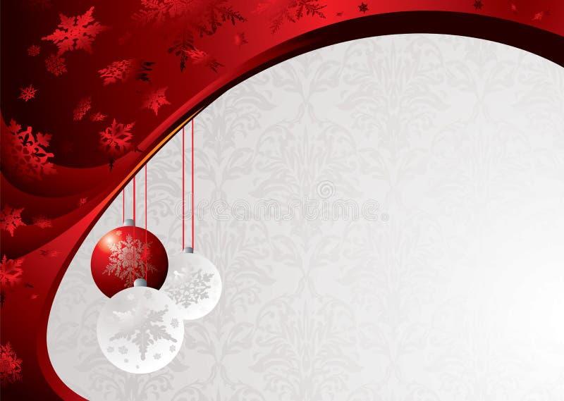 La Navidad con clase stock de ilustración