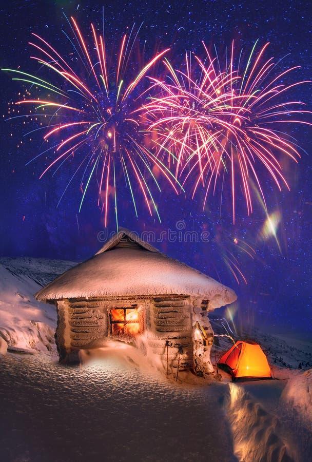 La Navidad, día de fiesta, saludo imágenes de archivo libres de regalías