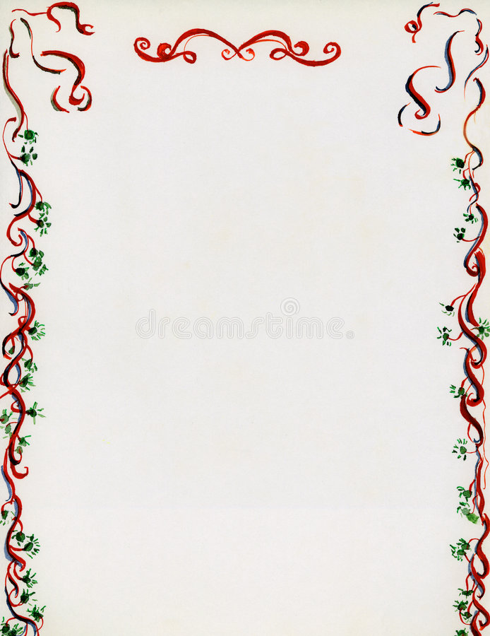 La Navidad de antaño stock de ilustración