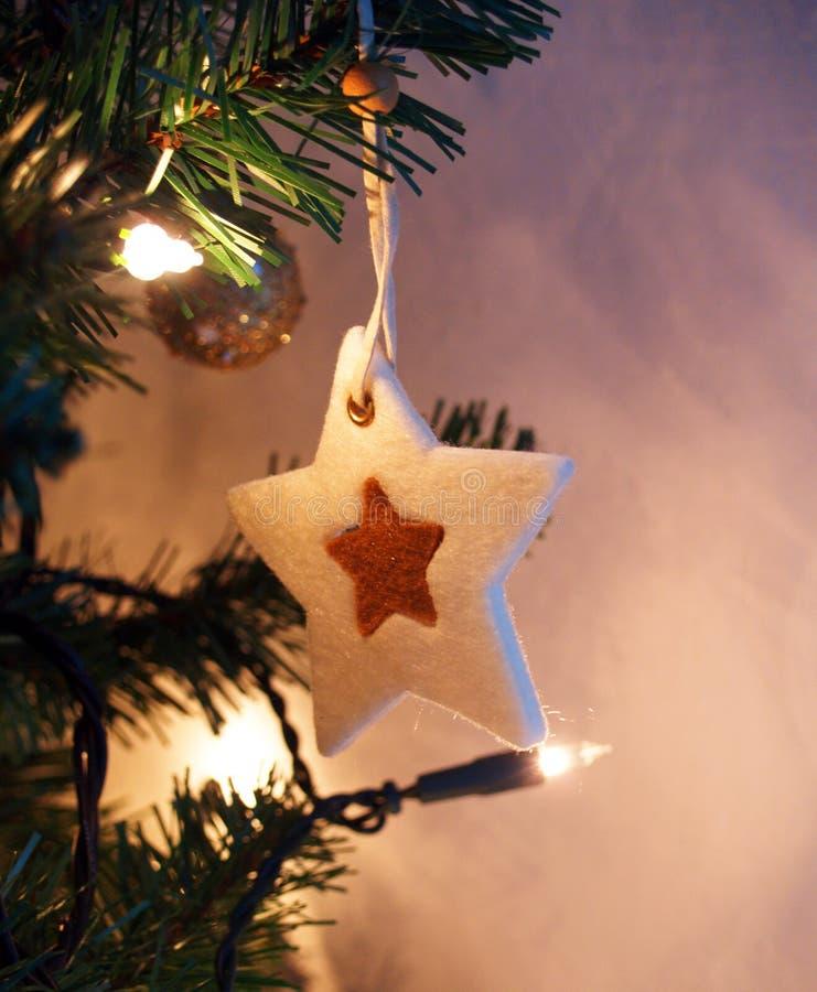 La Navidad de la estrella imagen de archivo