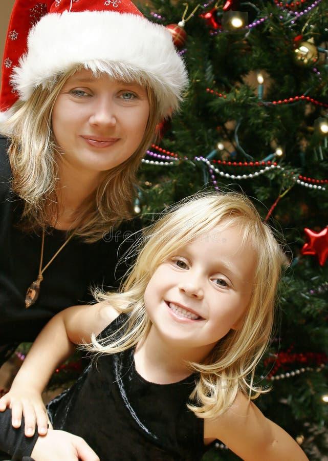 La Navidad de la familia imagenes de archivo