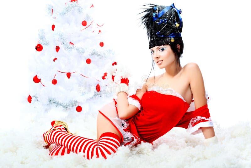 La Navidad de la manera imágenes de archivo libres de regalías