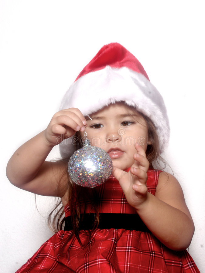 La Navidad de la niñez foto de archivo libre de regalías