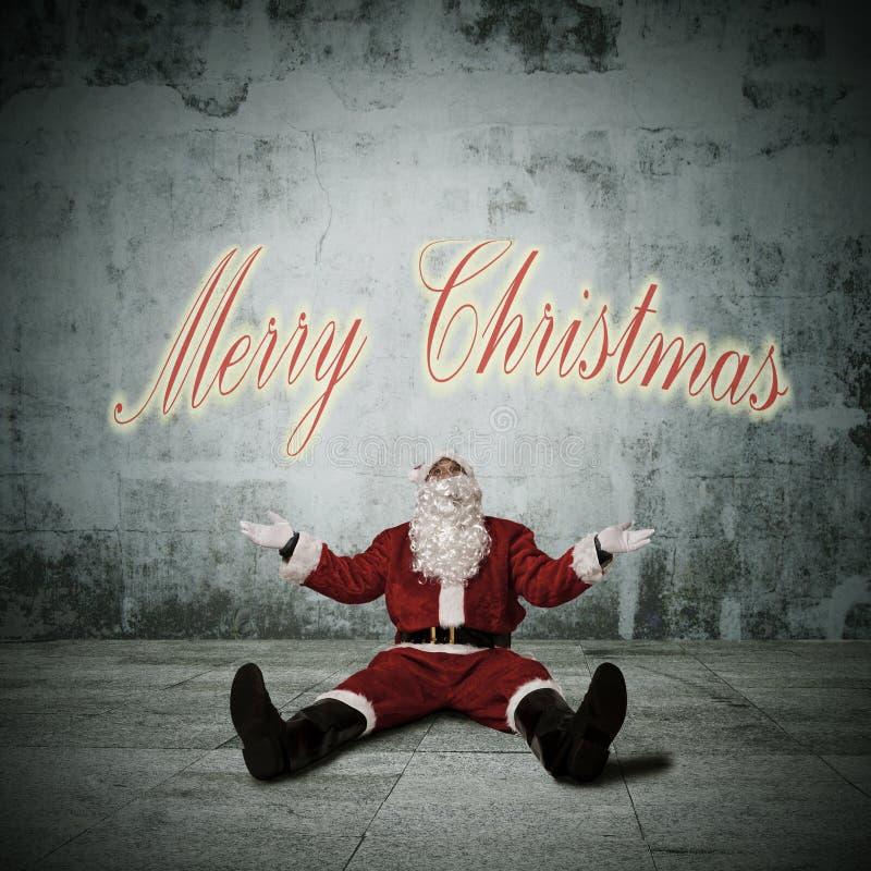 La Navidad de la tarjeta imágenes de archivo libres de regalías