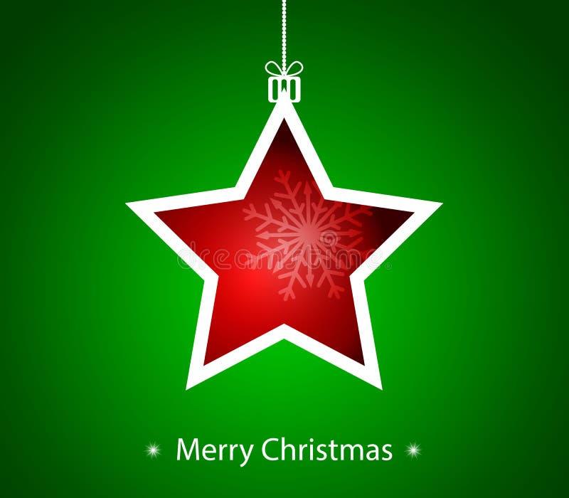 La Navidad de Maria. ilustración del vector