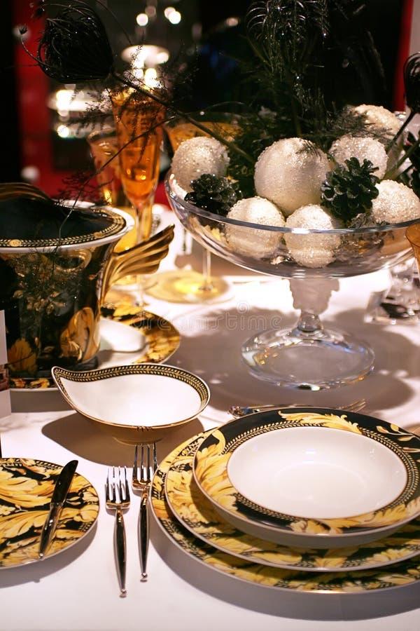 La Navidad de oro fotografía de archivo