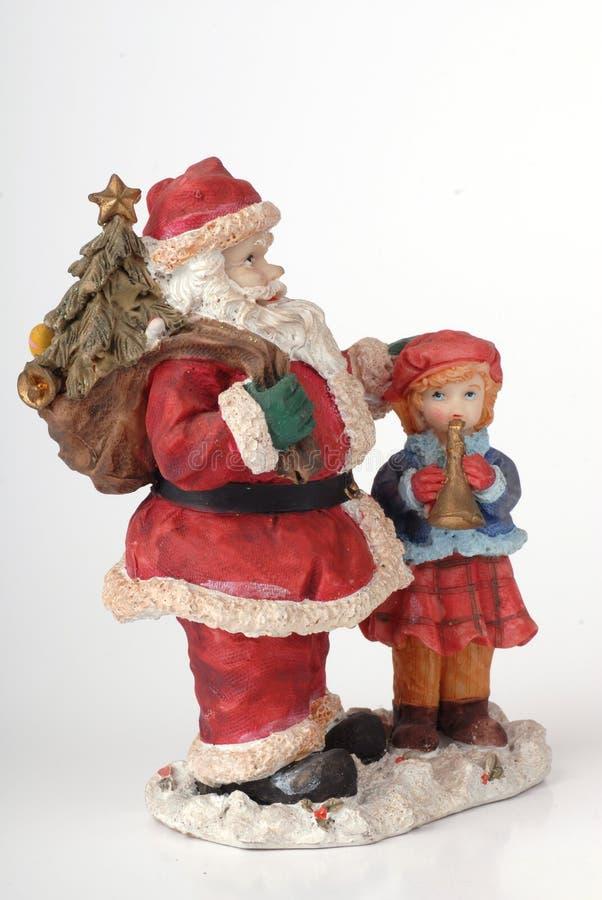 La Navidad de Papá Noel foto de archivo