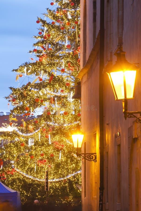 La Navidad de Praga fotos de archivo libres de regalías