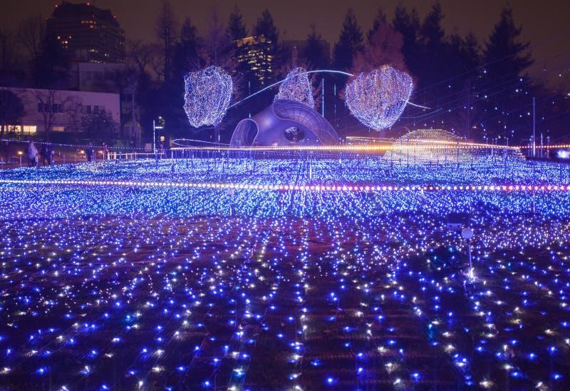 La Navidad de Tokio imagen de archivo libre de regalías