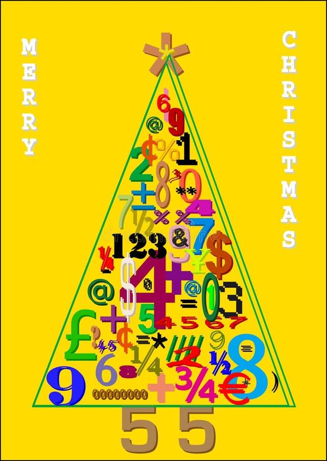 La Navidad del árbol del asunto. libre illustration