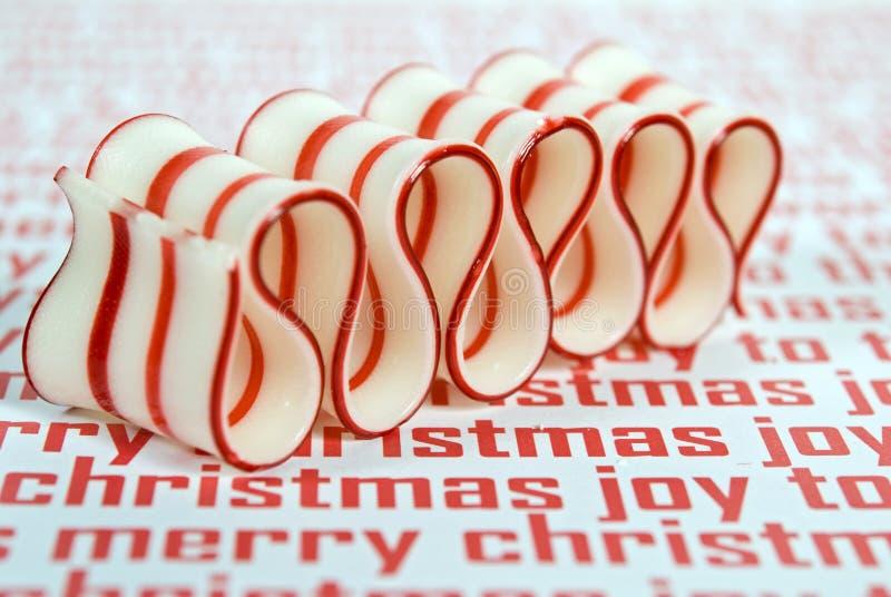 La Navidad del caramelo duro fotos de archivo libres de regalías