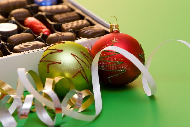 La Navidad del chocolate imagen de archivo libre de regalías
