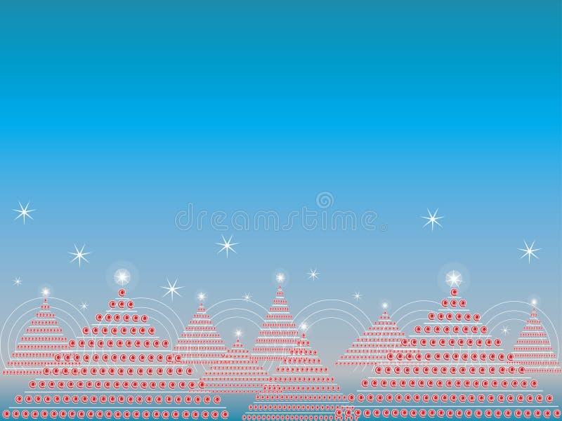 La Navidad del disco ilustración del vector