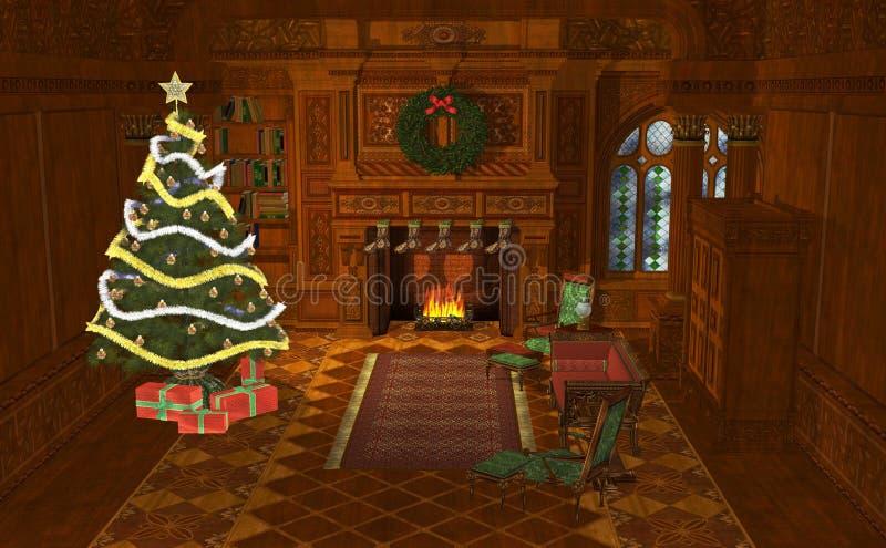 la Navidad del ejemplo 3D libre illustration