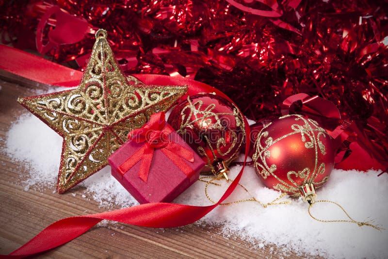 La Navidad del fondo fotos de archivo