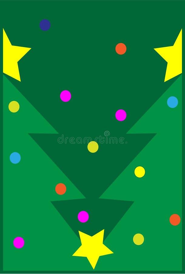 Download La Navidad del pino ilustración del vector. Ilustración de hometown - 7282031