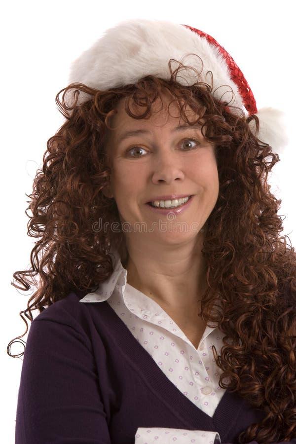 La Navidad divertida foto de archivo libre de regalías