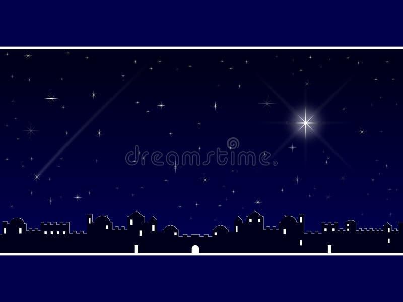 La Navidad en Bethlehem [azul]