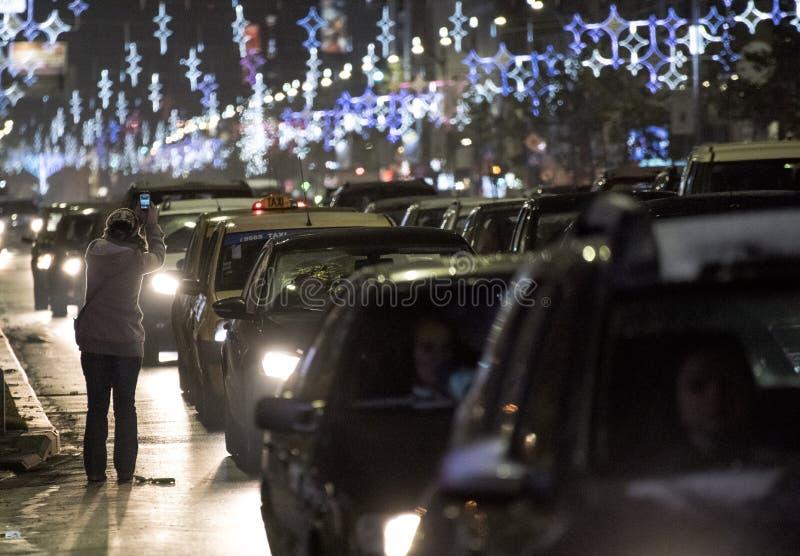 La Navidad en Bucarest (3) imagen de archivo libre de regalías
