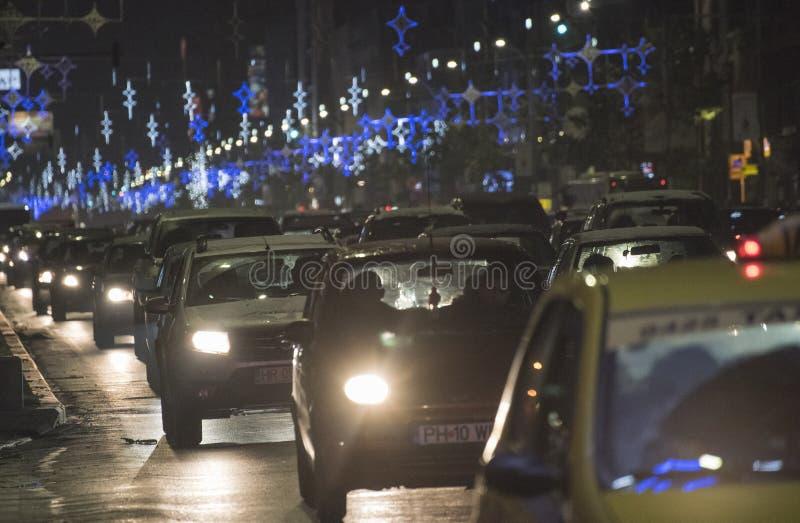 La Navidad en Bucarest (5) fotografía de archivo libre de regalías