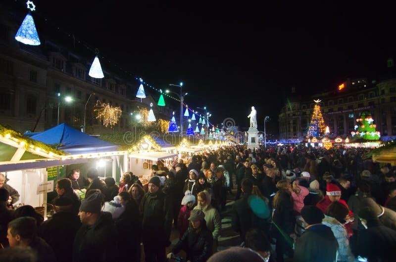 La Navidad en Bucarest (II) fotografía de archivo