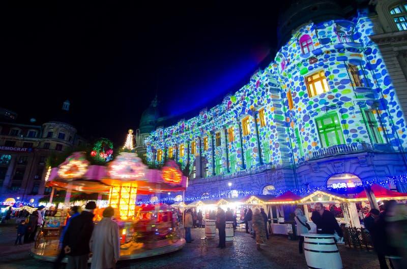 La Navidad en Bucarest (V) fotografía de archivo