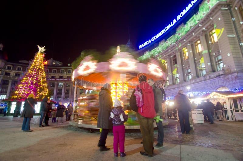 La Navidad en Bucarest (VI) imagenes de archivo