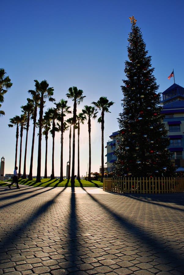 La Navidad en California imagenes de archivo