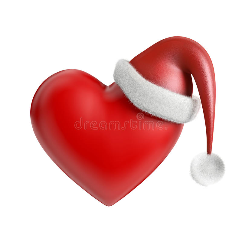 La Navidad en el corazón libre illustration