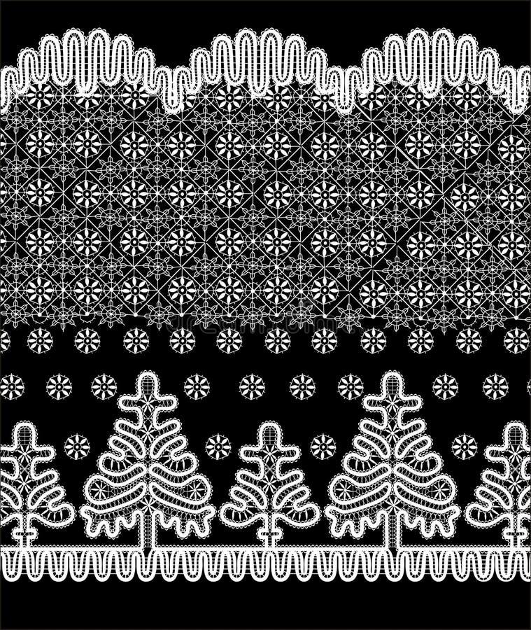 La Navidad en el fondo ilustración del vector