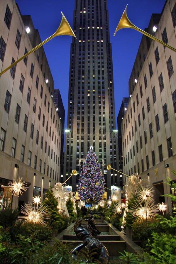 La Navidad en Nueva York imágenes de archivo libres de regalías