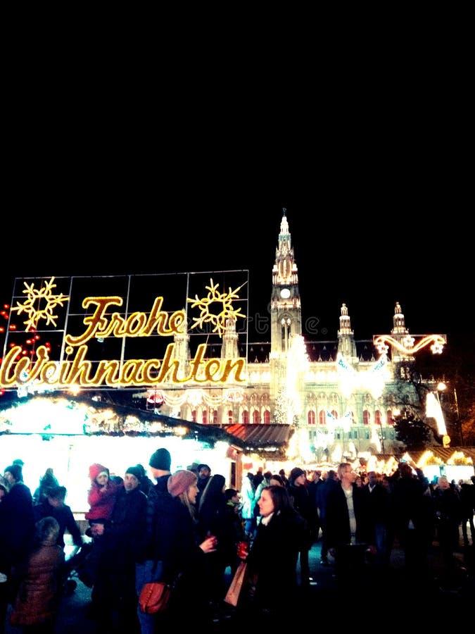 La Navidad en Viena imágenes de archivo libres de regalías
