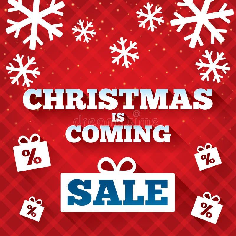 La Navidad es fondo de la venta que viene. libre illustration