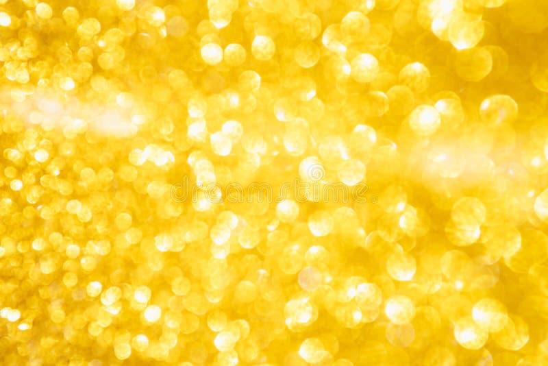 La Navidad Fondo de oro del brillo del extracto del d?a de fiesta imagen de archivo libre de regalías