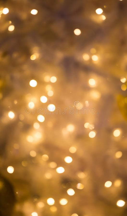 La Navidad Fondo festivo del extracto de Navidad con el bokeh imagen de archivo