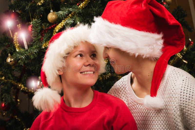 La Navidad junto foto de archivo