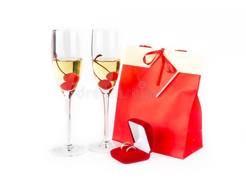 La Navidad o composición de las tarjetas del día de San Valentín imagen de archivo libre de regalías