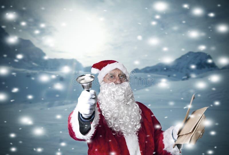 La Navidad, Papá Noel imágenes de archivo libres de regalías
