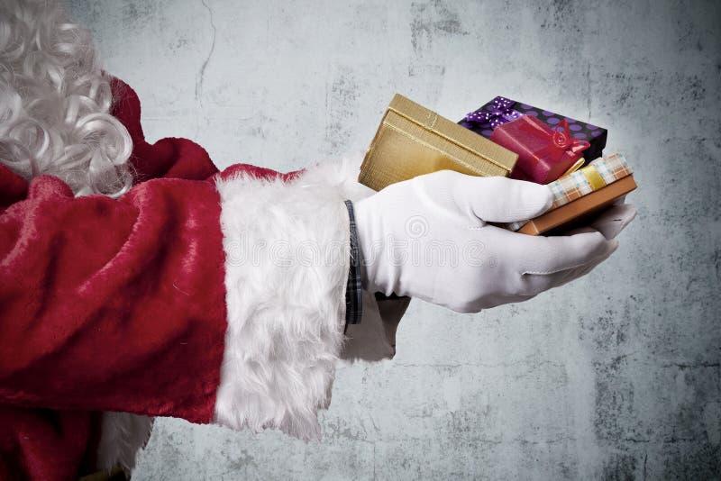 La Navidad, Papá Noel foto de archivo