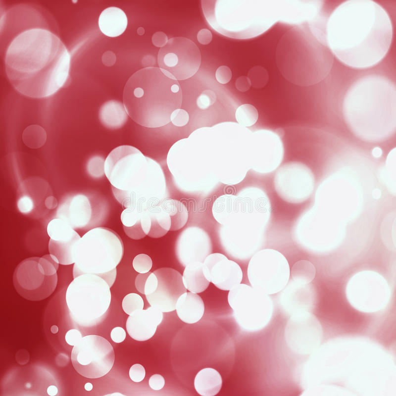 La Navidad Parte posterior Defocused del día de fiesta del brillo rojo del extracto imagenes de archivo