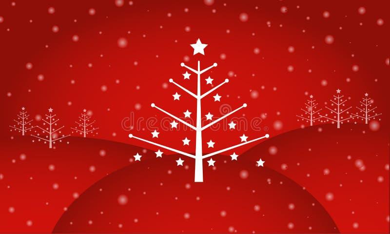 La Navidad retra stock de ilustración