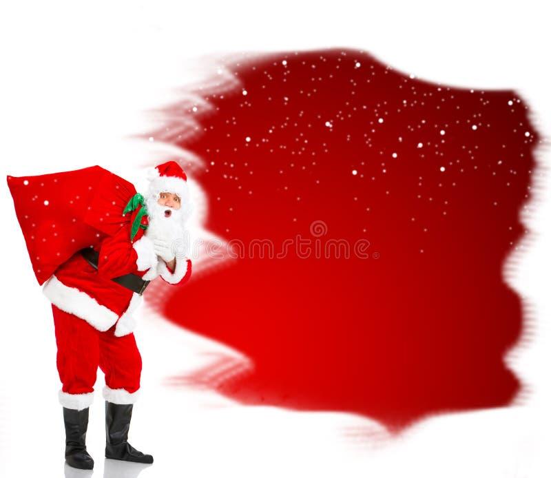 La Navidad Santa foto de archivo libre de regalías