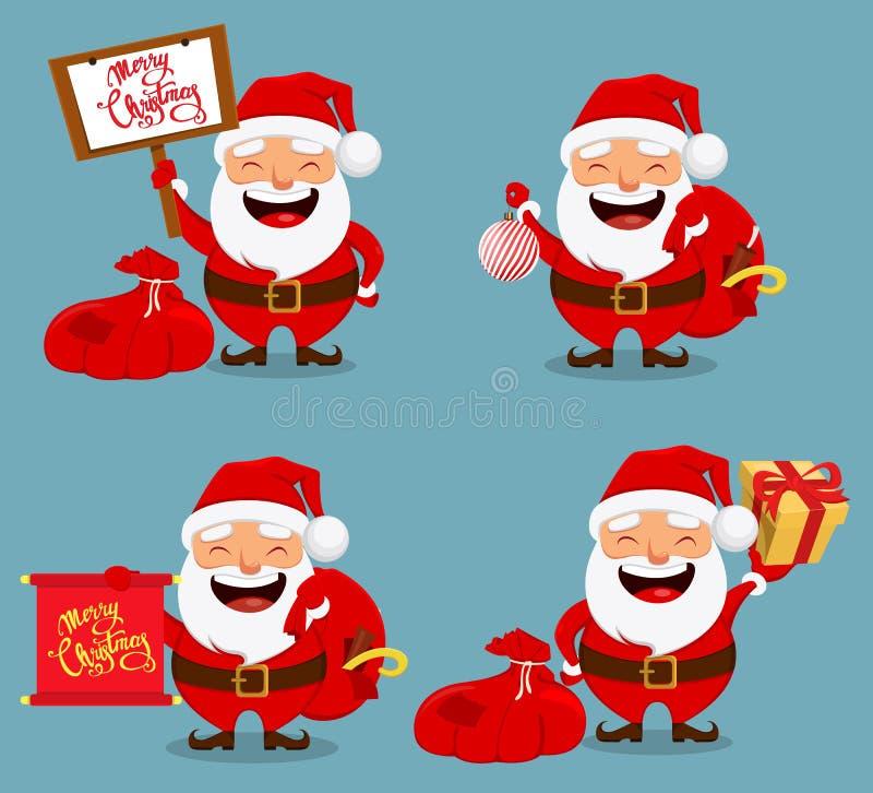 La Navidad Santa Claus, personaje de dibujos animados divertido libre illustration