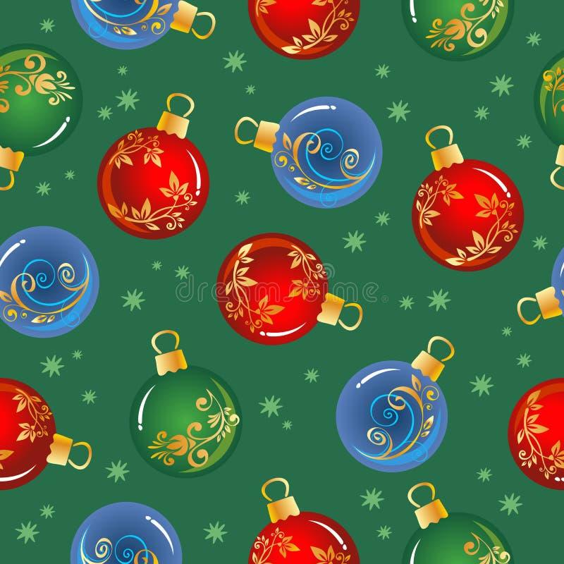 La Navidad seamless-06 stock de ilustración