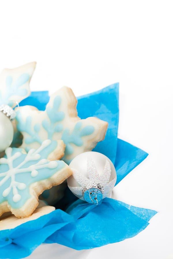 La Navidad Sugar Cookies foto de archivo